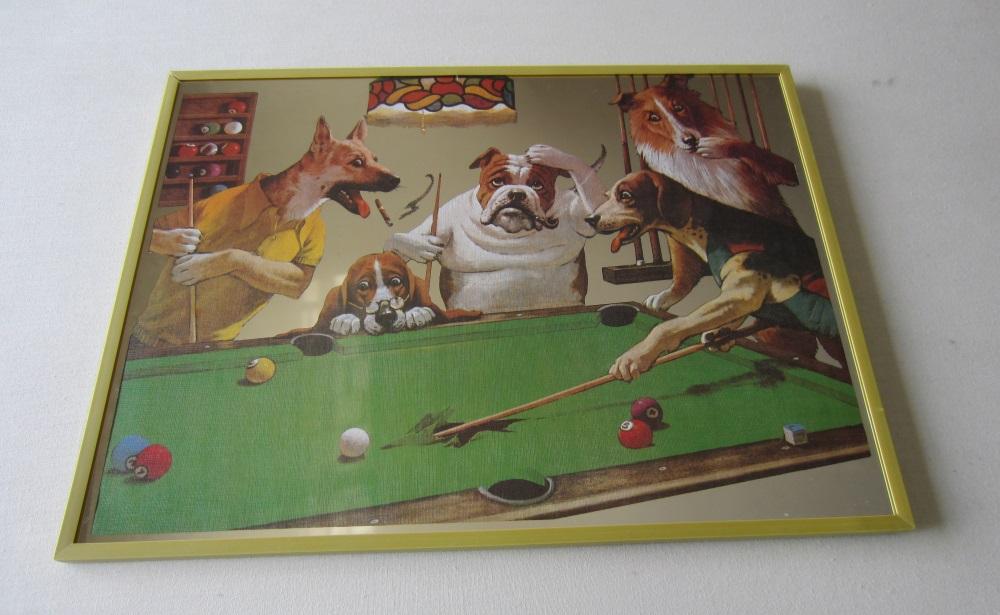 Espelho  Velho Cães -  set-5 unid.