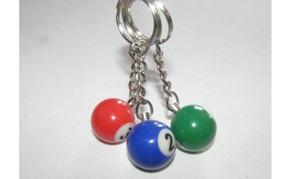 Conjunto de 3 porta chaves