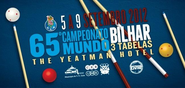 Campeonato do Mundo Bilhar 3 tabelas - 2012