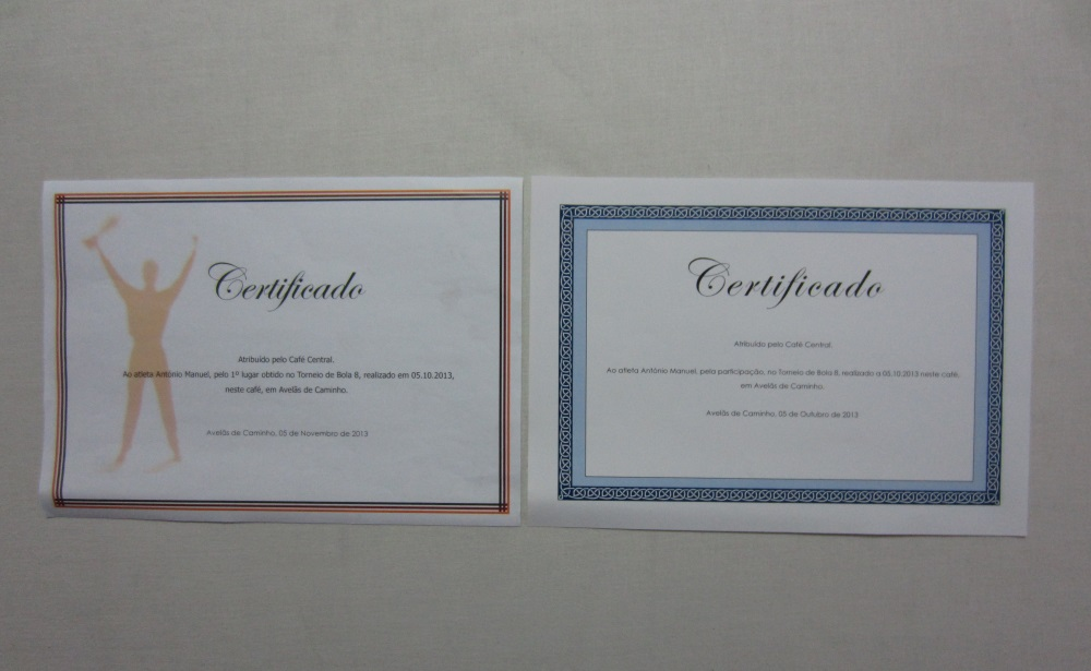 Certificados / Diplomas